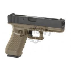 Replica Glock 18C Tan Gen.4 GBB WE