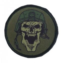 Patch Skull Helmet