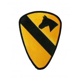 Patch 1 st Cavalry Textil