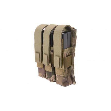 Pouch Triplu MP5 Multicam GFC Tactical