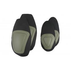 Set Protectii Genunchi si Coate Olive Ultimate