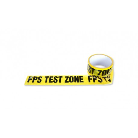 Banda Avertizare FPS Test Zone Fosco