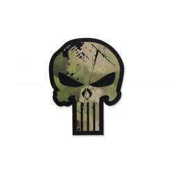 Patch Punisher Skull ATACS FG GEN II IR
