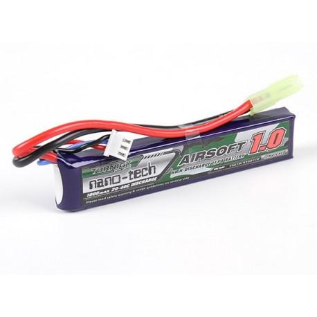 Baterie LiPo 1000mAh 7.4V 20-40C Nano Tech