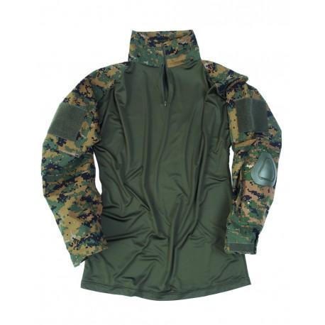 Bluza Combat Digital Woodland MilTec