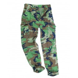 Pantalon BDU Woodland MilTec