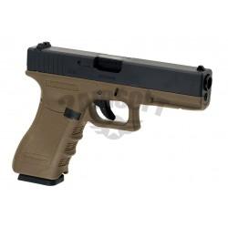 Replica Glock 17 Desert  GBB WE