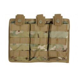Pouch Incarcatoare Triplu Easy Access Multicam 8Fields