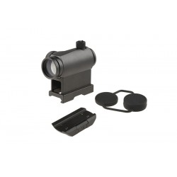 Red Dot T1 Negru High/Low Mount Theta Optics