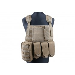 Vesta Tactica MBSS Plate Carrier Tan GFC Tactical