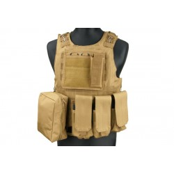 Vesta Tactica FSBE Tan GFC Tactical