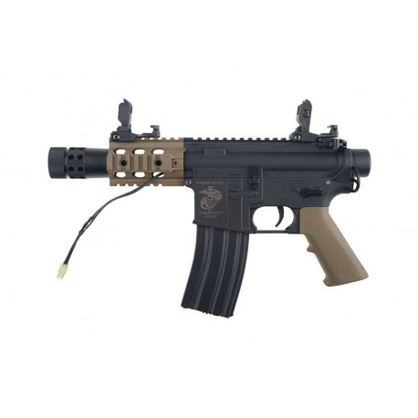 Replica M4 SA-C18 CORE™ Negru/Tan Specna Arms