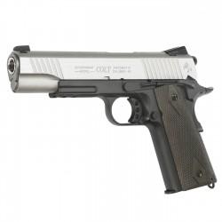 Replica Colt M 1911 Rail Dual Tone CO2 Cybergun