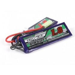 Baterie LiPo 1800mAh 7.4V 25-50C 1+1 Nano Tech