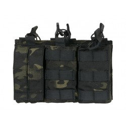 Buzunare Open Top Triple 5+2 Multicam Black 8Fields