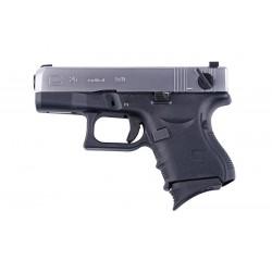 Replica Glock G26 Gen.4 Negru/Silver GBB WE