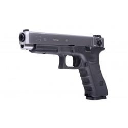 Replica Glock 35 Gen.3 Negru/Silver GBB WE