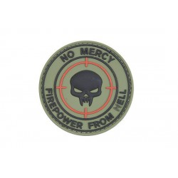Patch PVC 3D No Mercy GFC