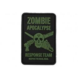 Patch PVC 3D Zombie Apocalypse