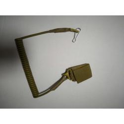 Cablu de Siguranta Pistol Tan