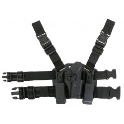 Platforma Picior cu Holster Negru Replici Glock
