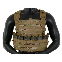 Chest Rig Tactic Multicam 8Fields