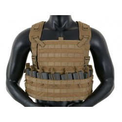Chest Rig Tactic Coyote 8Fields