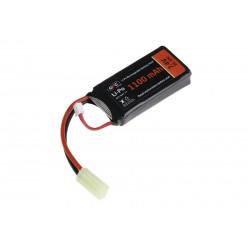 Baterie Lipo 7.40 V 1100 mAh 20-40C GFC Tactical