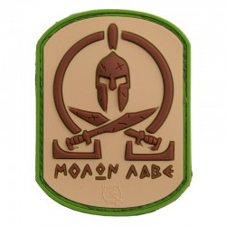 Patch Spartan Tan 3D