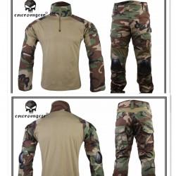 Costum Combat Emerson Gen2 Woodland
