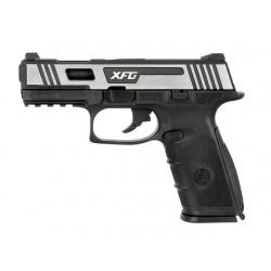 Replica Pistol GBB BLE XFG Negru/Silver ICS