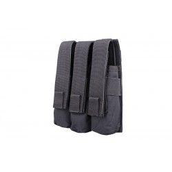 Pouch Triplu MP5 Negru GFC Tactical