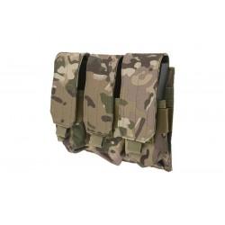 Pouch Triplu M4 Multicam GFC Tactical