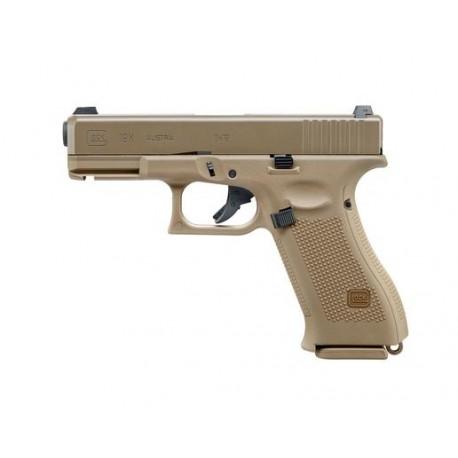 Replica Glock 19X Tan GBB Umarex