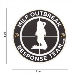 Patch 3D Milf Outbreak Negru 101 Inc