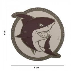 Patch 3D Shark Brown 101 Inc