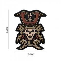 Patch 3D Samurai Skull Multi 101 Inc