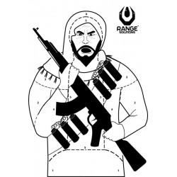 Set 50 Bucati Tinte Hartie Terorist