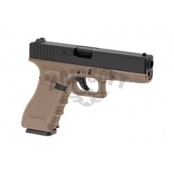 Replica Glock KP-17 Tan / Negru GBB KJ Works