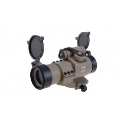 Red Dot  Battle Reflex Sight  Tan Theta Optics