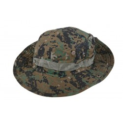 Sapca Boonie Hat Digital Woodland