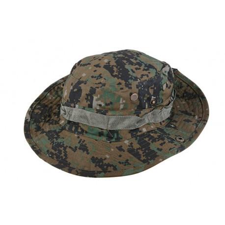 Sapca Boonie Hat Digital Woodland