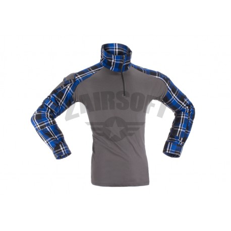Bluza Combat Blue Flannel Invader Gear