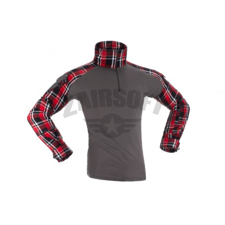 Bluza Combat Red Flannel Invader Gear