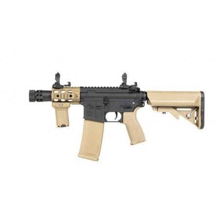 Replica M4 RRA SA-E10 EDGE™ Neagru/Tan Specna Arms