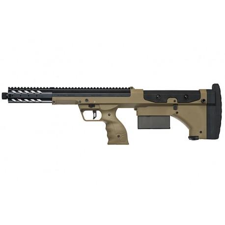 Replica SRS A1 Covert 16 Inch Pull Bolt Short Ver. Desert Tech FDE Silverback