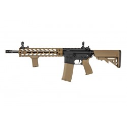 Replica M4 RRA SA-E15 EDGE™ Negru/Tan Specna Arms