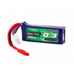 Baterie LiPo 300mAh 7.4 V 70-90C Nano Tech