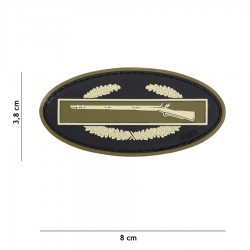 Patch Pvc Infantry Coyote 101 inc