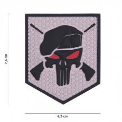 Patch 3D Commando Punisher Gri 101 Inc